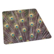 Peacock Design Chair Mat
