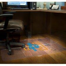 NCAA Hardfloor Foldable Chairmat