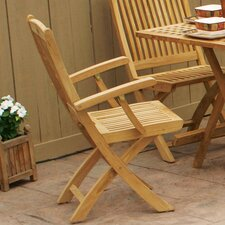 Harbor Folding Dining Arm Chair