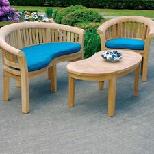 <strong>Jewels of Java</strong> Half Moon Bench Seating Group