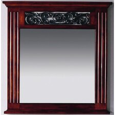 "Iris 30"" Vanity Mirror in Cinnibrown"