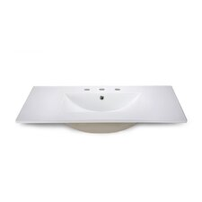 "<strong>Xylem</strong> 37"" Vanity Top with Square Bowl"