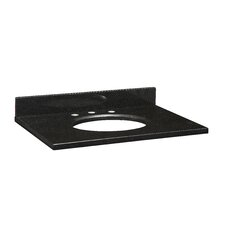 "<strong>Xylem</strong> 31"" Stone Vanity Top with Backsplash for Undermount Sink"