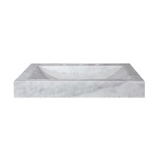 "24"" Marble Vanity Top with Integrated Bowl"
