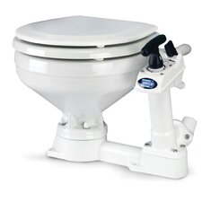 Twist N Lock Manual Marine Elongated 1 Piece Toilet