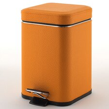 <strong>Gedy by Nameeks</strong> Faux Leather Square Waste Bin