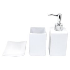 Verbena 3 Piece Bathroom Accessory Set
