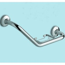 <strong>Gedy by Nameeks</strong> Grab Bar with Soap Holder