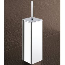 Kansas Toilet Brush Holder in Chrome
