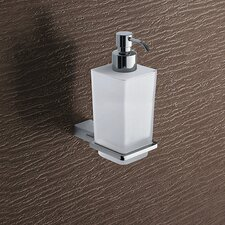 Kansas Wall Mounted Matte Glass Soap Dispenser