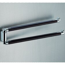 <strong>Gedy by Nameeks</strong> Odos Wood Jointed Double Towel Bar in Wenge