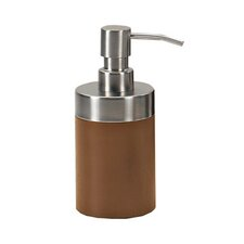 Erica Soap Dispenser in Walnut