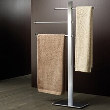Bridge Free Standing Sliding 3 Tier Towel Stand