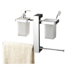 <strong>Gedy by Nameeks</strong> Bridge Wall Mounted Bathroom Butler