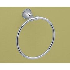 Genziana Towel Ring in Chrome