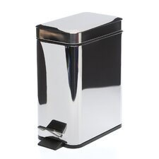 <strong>Gedy by Nameeks</strong> Argenta Rectangular Waste Bin