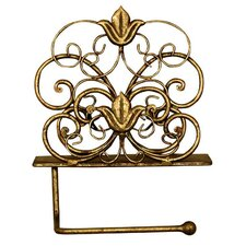 Gilded Lily Toilet Roll Holder