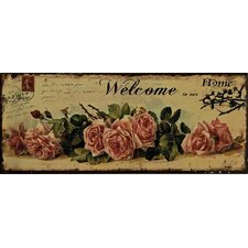 Welcome to Our Home Wall Plaque *