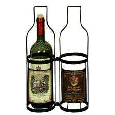 Vintage 2 Bottle Wine Carrier *