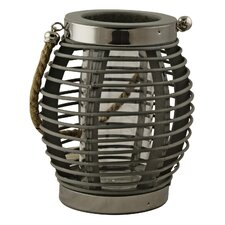 Barred Metal Lantern
