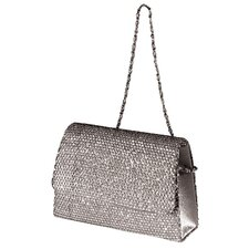 Sequinned Flaplid Handbag *