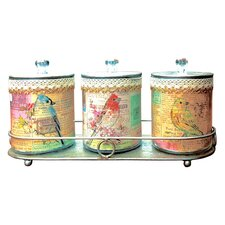 Gifts and Accessories So Pretty 36cm Storage Tins (Set of 3)