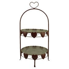 """Love Heart"" Cake Stand"