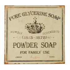 Soap Plaque