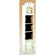 Country Storage Grandfather Clock