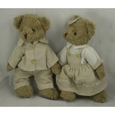 Sunday Best Boy and Girl Bears Plush
