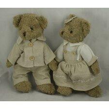 Sunday Best Boy and Girl Bears Plush