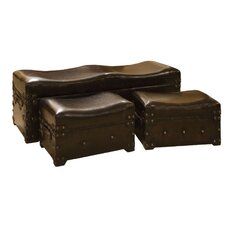 Bench Trunk (Set of 3)