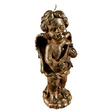 Angel with Lute Candle (Set of 4)