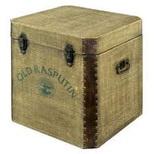 """Old Rasputin"" Canvas Blanket Box"