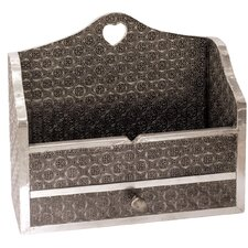 Gifts and Accessories Embossed Letter Rack