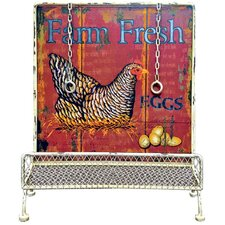 Gifts and Accessories 51cm Farm Fresh Book Stand