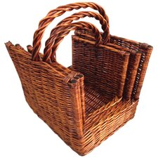 Gifts and Accessories The Logs Baskets (Set of 3)