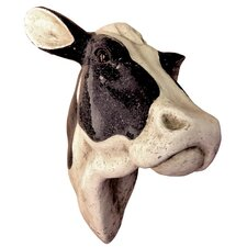 Gifts and Accessories Head Cow 3D Glitter Wall Bust