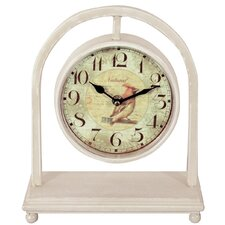 Gifts and Accessories Naturalist Mantle Clock