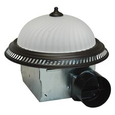 70 CFM Exhaust Bathroom Fan with Light