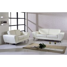 <strong>Hokku Designs</strong> Julie Leather Living Room Collection