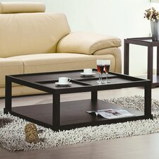<strong>Hokku Designs</strong> Parson Coffee Table with Removable Tray