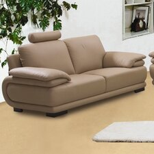 Rhythm Leather Loveseat