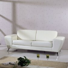 <strong>Hokku Designs</strong> Julie Leather Sofa