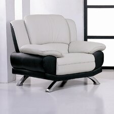 <strong>Hokku Designs</strong> Caelyn Leather Chair