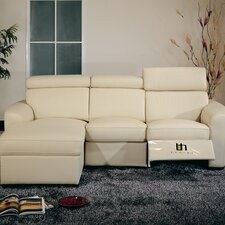 <strong>Hokku Designs</strong> Mica Reclining Sectional