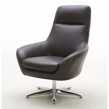 <strong>Hokku Designs</strong> Navis Leather Chair
