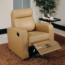 <strong>Hokku Designs</strong> Slope Leather Recliner