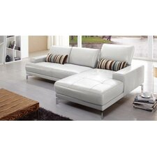 <strong>Hokku Designs</strong> Urban Leather Right- Chaise Sectional
