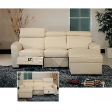 <strong>Hokku Designs</strong> Matisse Leather Sectional